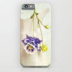 still life with Aquilegia iPhone 6s Slim Case