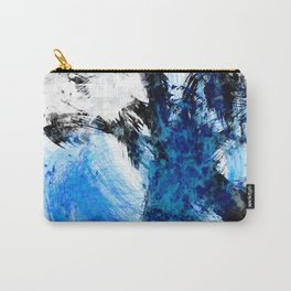 Static Blue Carry-All Pouch