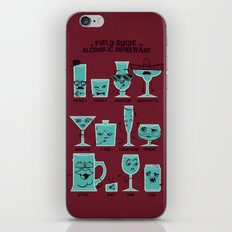Field Guide to Alcoholic Drinkware iPhone & iPod Skin