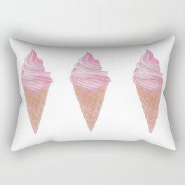 Ice Cream Cone Rectangular Pillow