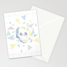 Glass Skull Stationery Cards