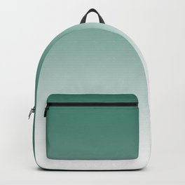 Ombre Viridian Sea Green Backpack