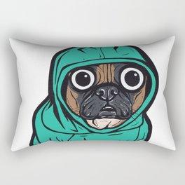 French Bulldog Hoodie Rectangular Pillow