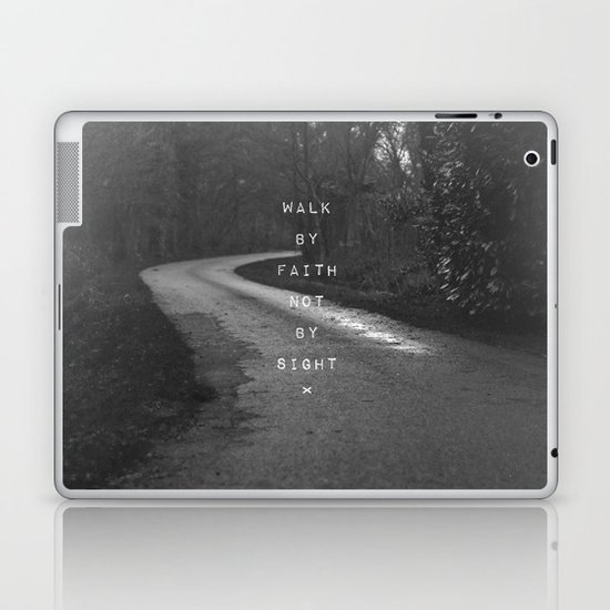 Faith not Sight Laptop & iPad Skin