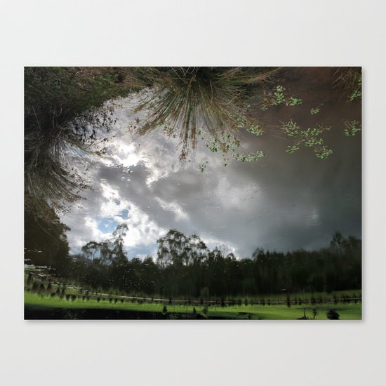 It Turned My World Upside Down Canvas Print
