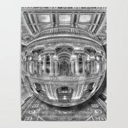 Ode To MC Escher Library of Congress Orb Poster