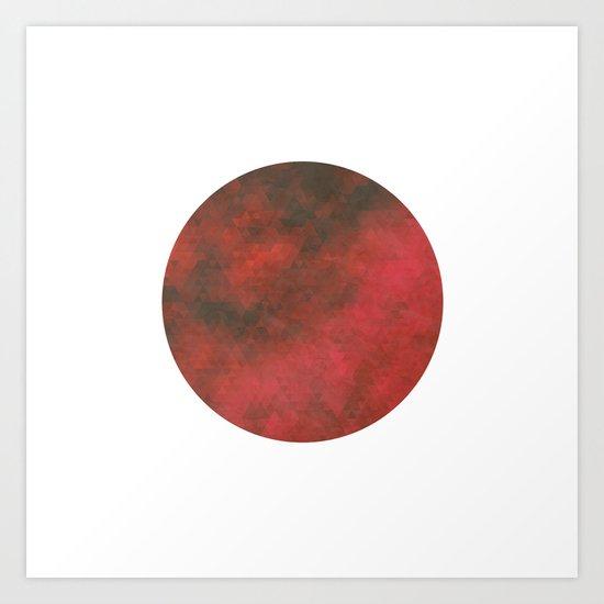 Pl∆net Art Print