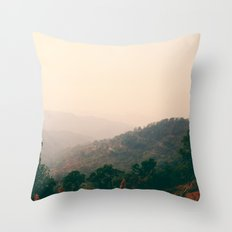 1,864 Swerves Throw Pillow