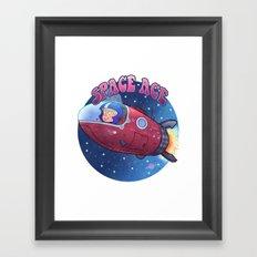 Space ace Framed Art Print