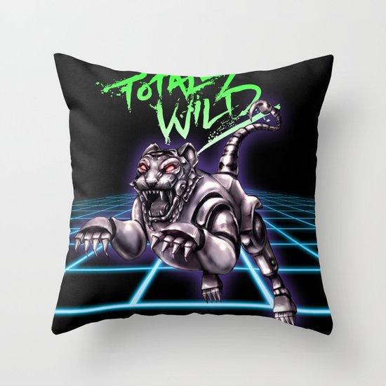TOTALLY WILD Throw Pillow