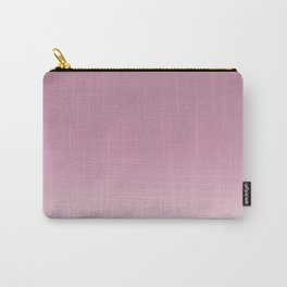 Smoky pink ombre . Carry-All Pouch