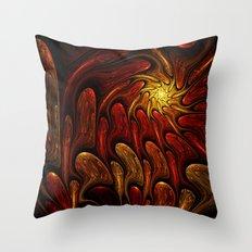 Elements: Fire Throw Pillow