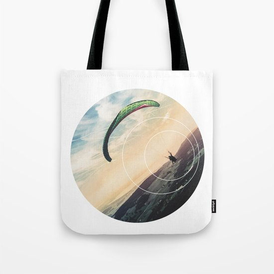 Skydive Gravity - Geometric Photography Tote Bag