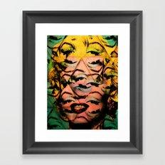 Monroe Framed Art Print