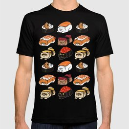 Sushi Persian Cat T-shirt