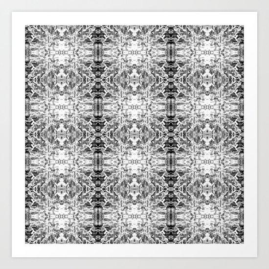 Rage against the Machine - Alt B&W Version Art Print