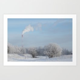 Frost Industries Art Print