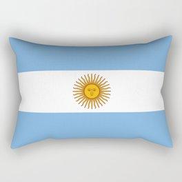 Flag of argentina -Argentine,Argentinian,Argentino,Buenos Aires,cordoba,Tago, Borges. Rectangular Pillow
