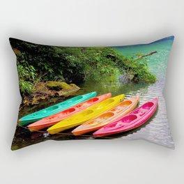Kayak Rectangular Pillow