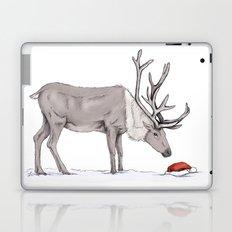 Christmas reindeer Laptop & iPad Skin