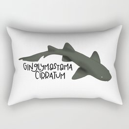 Caribbean Nurse Shark Rectangular Pillow