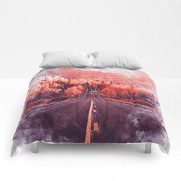 Colorado Highway Comforters