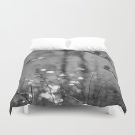 Summer Afternoon by the Pond in New Hampshire Duvet Cover
