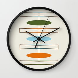 Mid-Century Modern Art 1.2 Wall Clock