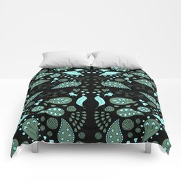 Fairy Foliage II Comforters