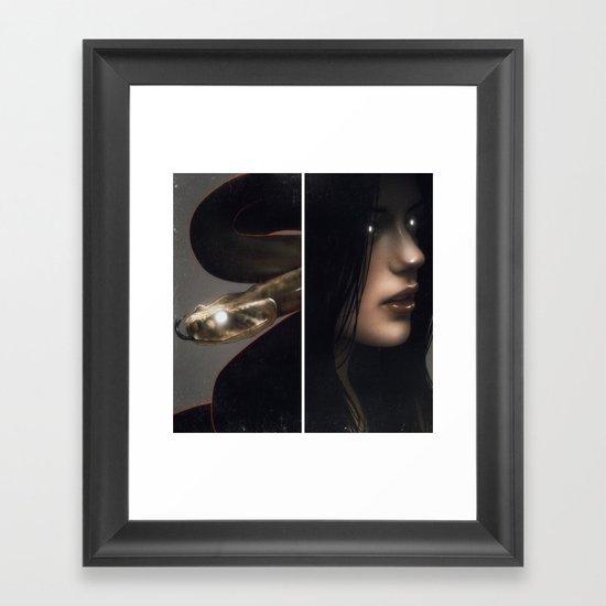 Live To Win III.  Framed Art Print
