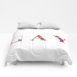 GAY (With Rainbow) Comforters