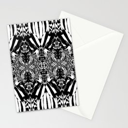 Black and white Bow - 1 Stationery Cards