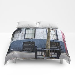 Old Greenwich Village apartment Comforters