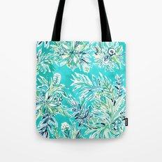 KAILUA CHILL Tropical Hawaiian Floral Tote Bag