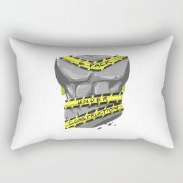 Six Pack - Under Construction Rectangular Pillow