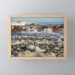 Foamy Sea Framed Mini Art Print
