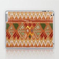 Orange Boho Tribal Pattern Laptop & iPad Skin