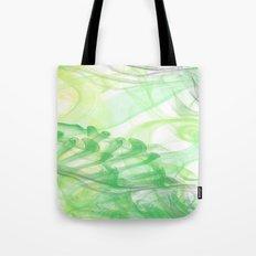 Green Smoke Tote Bag