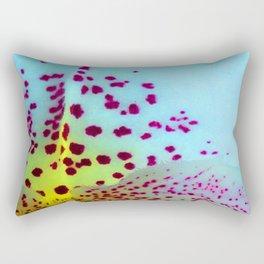 Flower Tiger Orchid's Detail Rectangular Pillow