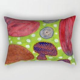 Still Life Pattern with Onions Rectangular Pillow