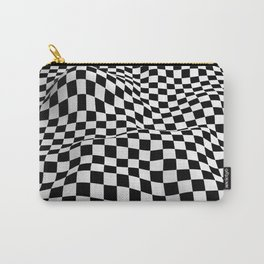 Wiggly Checker Board Carry-All Pouch
