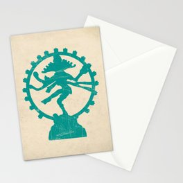 Dancing Shiva Art Print Stationery Cards
