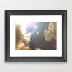 Now That the Rain Is Gone Framed Art Print