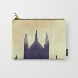 Winchester Cathedral travel poster Carry-All Pouch