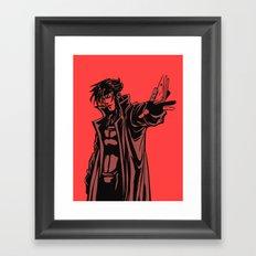 Gambit vector Framed Art Print