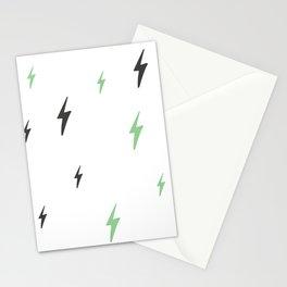 Soft Lightning Bolts Stationery Cards