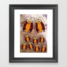 Cockroaches Framed Art Print