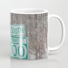 Vermont Street Signs Mug