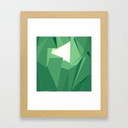 Polygon Two Framed Art Print