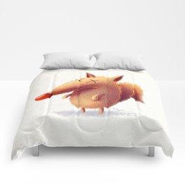 Monday fox Comforters
